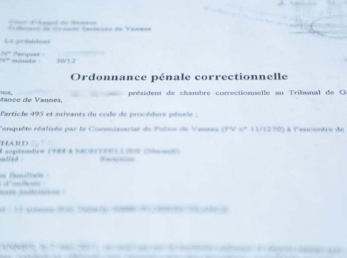 L Ordonnance Penale Procedure De Jugement Simplifiee Franck